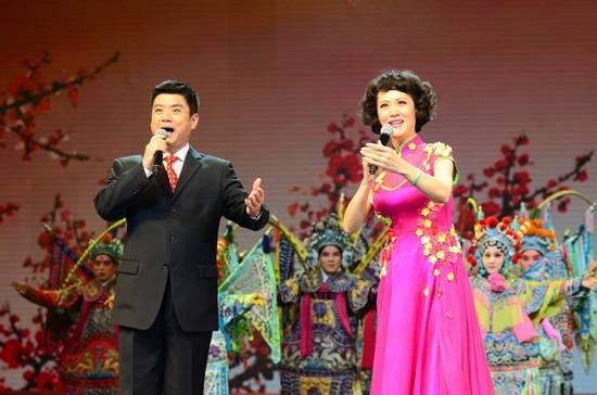 京剧联唱《我是中国人》图片