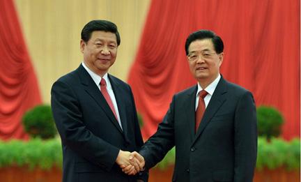 胡錦濤習近平等會見十八大代表並發表重要講話