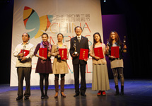 獲得本屆校園戲劇節單項獎的劇組代筆合影.JPG