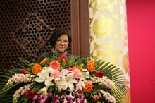 胡玫宣布會議決議
