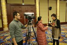 中國文藝網現場採訪于丹