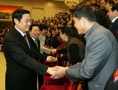 劉奇葆出席中國曲協第七次全國代表大會並講話