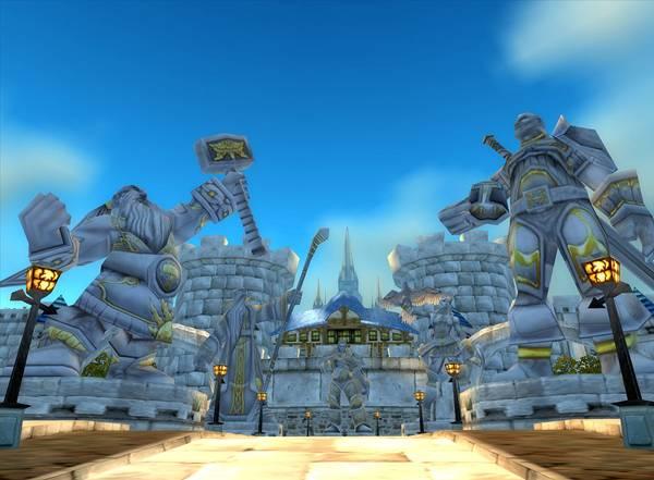 《魔兽世界》暴风城城门
