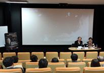 李前寬做《電影的文化品格》專題演講
