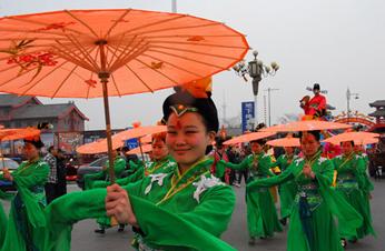 2013中國(開封)清明文化節開幕再現宋代特色巡遊