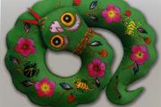 五毒蛇挂件