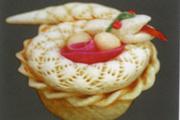 蛇盤兩顆蛋﹒花饃