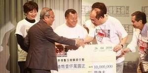 傳奇老人邵逸夫慈善捐款超32億 曾受頒慈善終身榮譽獎