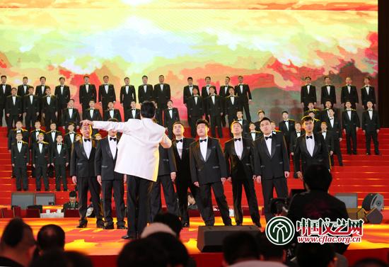 中国武警男声合唱团演唱 传奇