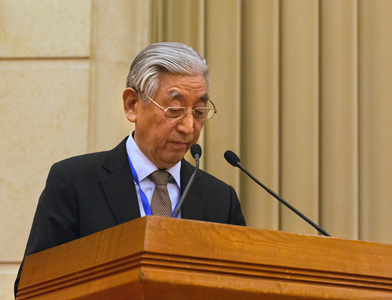 中國書協第六屆主席張海致開幕詞