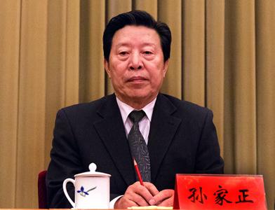 中國文聯主席孫家正參加開幕式