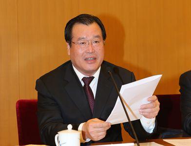 中國雜協新一屆主席邊發吉講話