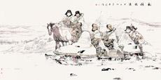 北疆鐵騎(中國畫) 劉大為