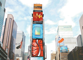 春晚宣傳片首次亮相紐約時報廣場