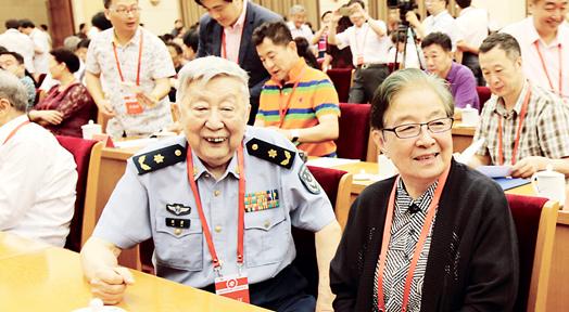 閻肅參加中國音樂家協會第八次全國代表大會