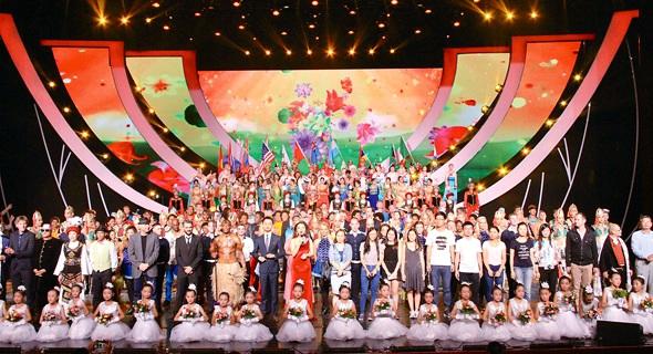第十屆中國國際民間藝術節全體藝術家合唱《歡樂頌》