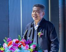 主辦單位代表、中國企業文化促進會會長呂德文致辭
