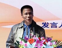 中國文聯文藝資源中心副主任冉茂金致辭