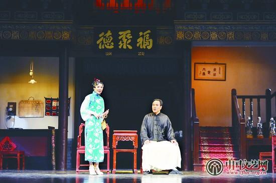北京人艺演员刘辉_中国文艺网_北京人艺《天下第一楼》迎来第501场演出和第三代演员