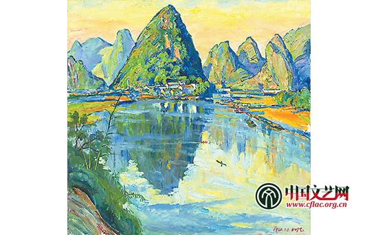 他的绘画题材涉及人体,静物,风景,特别是都市风景.