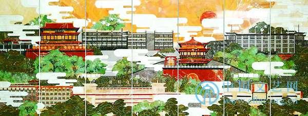 谢瑶《都市风景线之高新开发区》,裴林安《时空变奏》,李路葵《钟鼓楼