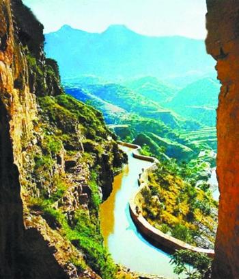 红旗渠全长1500公里,安阳官方的计划是以红旗渠总干渠为申报保护