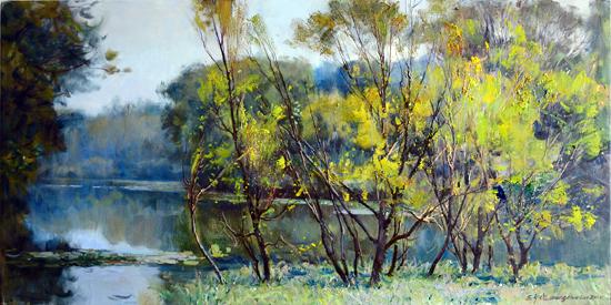 奋进在现实主义艺术的道路上——评王少伦油画创作