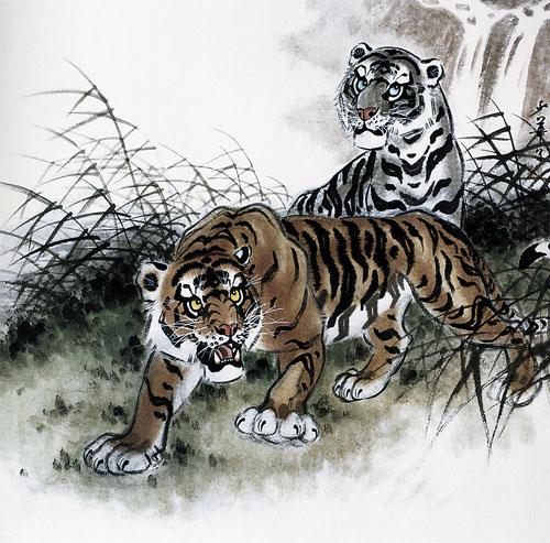 中国画的写意精神吸引世界关注——记画虎名家姚少华