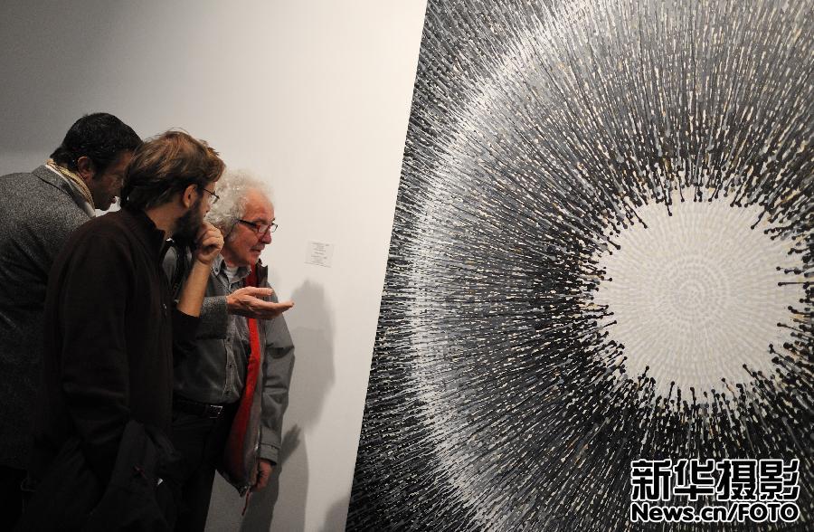 中国当代艺术_中国抽象艺术展在罗马开幕