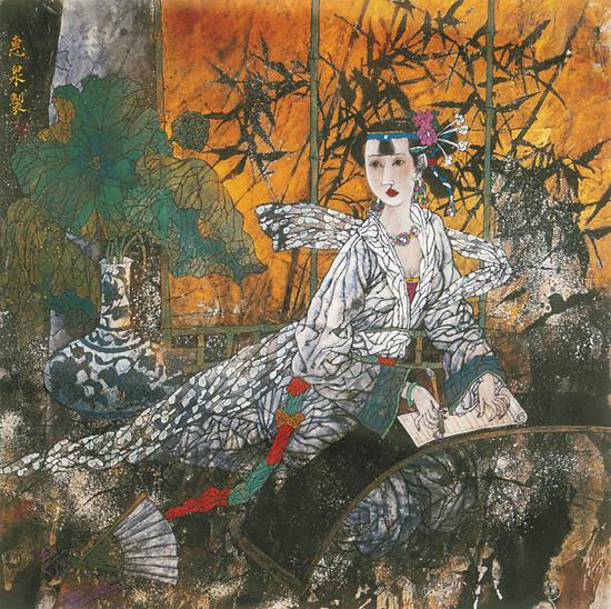 中国文艺网-徐惠泉人物画的现代意义