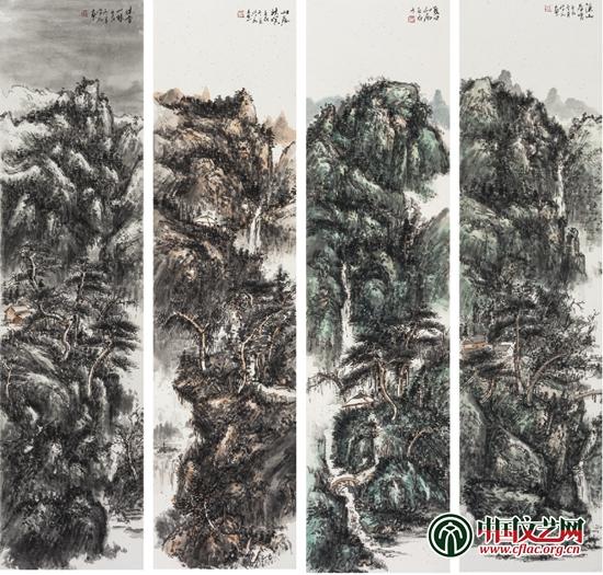 江山之约 中国山水画名家第六回全国巡回展开幕