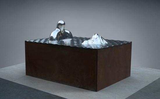 第七届刘雕塑奖作品国际大展优秀事迹方案展开开渠邹勇松视频图片