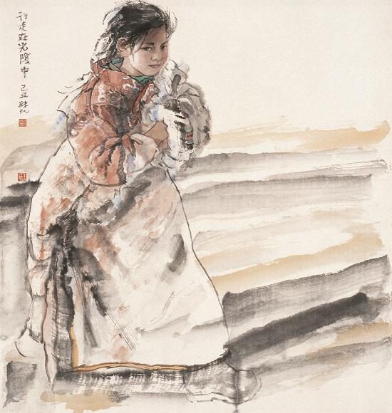 任继民作品-中国梦 民族魂 中国画名家邀请展在京开幕