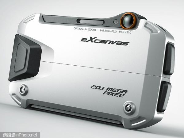 自带三脚架的概念设计相机excanvas
