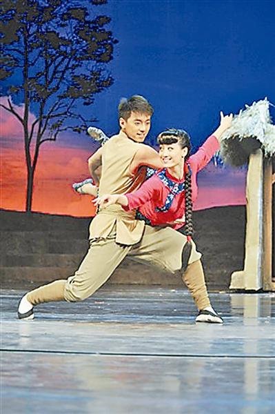 总政歌舞团大型舞剧 铁道游击队 舞 戏 交融