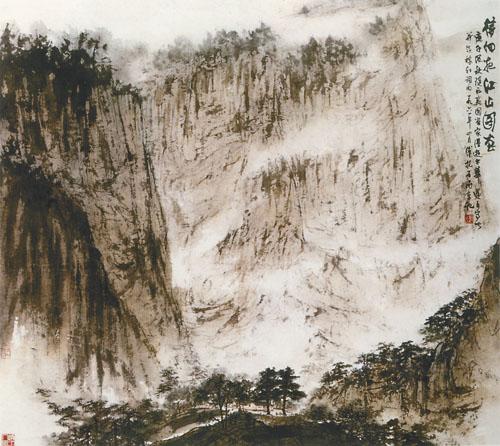中国美术馆为此专门购置了全新的语音导览设备,展览中的重要作品都配图片