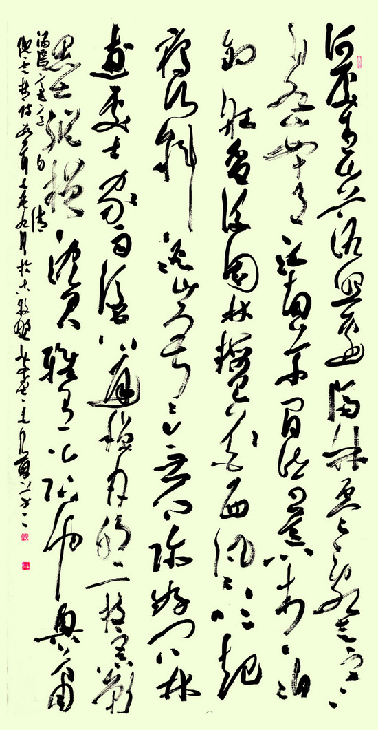 行草书仍是书法创作的主流——2012年度中国书法艺术发展报告(摘编) - ynddkr - ynddkr的艺术博客