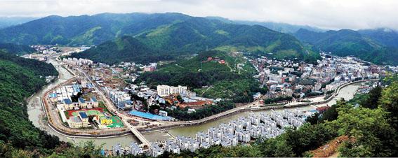 元青川三锅镇风景