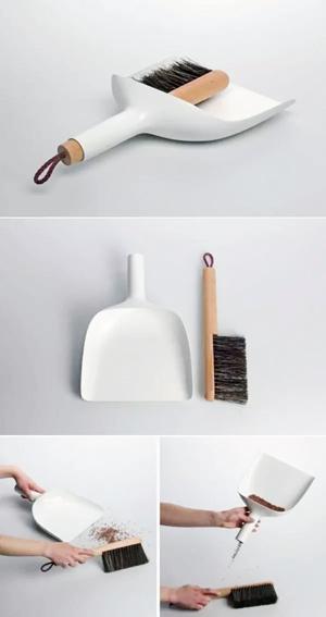 扫帚与簸箕创意设计