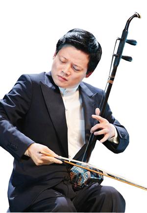 朱昌耀二胡独奏曲《月亮高高照九州》简谱原曲名为《月亮弯弯照九州》